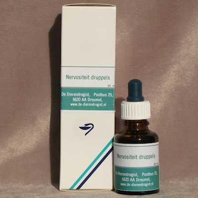 Nervositeitsdruppels (met pipet)  20 ml.