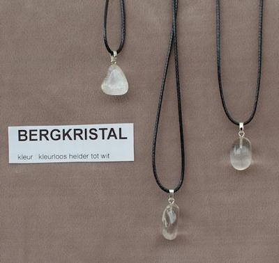 Bergkristal edelsteen (Madagaskar) kleurloos helder tot wit  1 Edelsteen