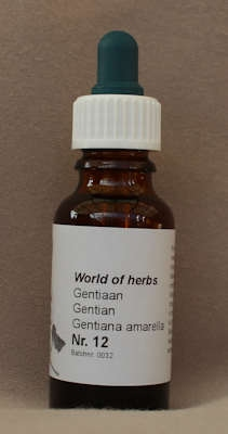 NR. 12  GENTIAN / GENTIAAN / GENTIANA AMARELLA  20 ml druppels