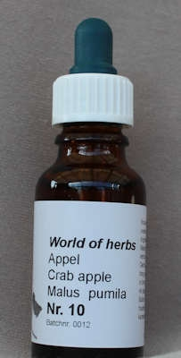 NR. 10  CRABAPPLE / APPEL / MALUS PUMILA  20 ml druppels