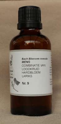BACH BLOESEM REMEDIE NR. 09  SUPERACTIE  50 ml.
