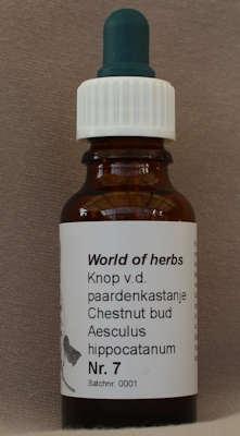 BACH BLOESEM REMEDIE NR. 07  SUPERACTIE  50 ml.