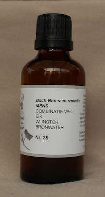 BACH BLOESEM REMEDIE NR. 39 SUPERACTIE  50 ml.