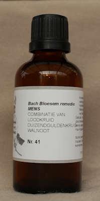 BACH BLOESEM REMEDIE NR. 41 SUPERACTIE  50 ml.