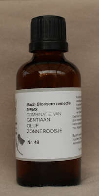 BACH BLOESEM REMEDIE NR. 48 SUPERACTIE  50 ml.