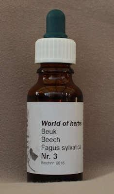 NR. 03  BEUK / BEECH / FAGUS SYLVATICA.  20 ml druppels