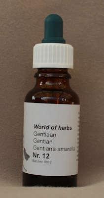 NR. 12  GENTIAAN / GENTIAN / GENTIANA AMARELLA  20 ml druppels