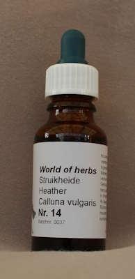 NR. 14  STRUIKHEIDE / HEATHER / CALLUNA VULGARIS.  20 ml druppels