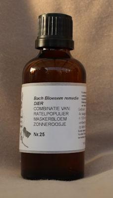 BACH BLOESEM REMEDIE NR. 25 SUPERACTIE  50 ml.