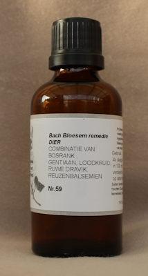 BACH BLOESEM REMEDIE NR. 59  50 ml.