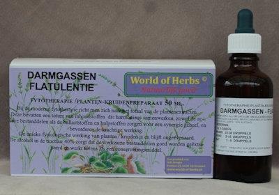 DARMGASSEN ; FLATULENTIE FYTOTHERAPIE 127  50 ml.