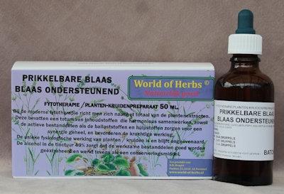 PRIKKELBARE BLAAS ; BLAAS ONDERSTEUNEND FYTOTHERAPIE 137  50 ml.