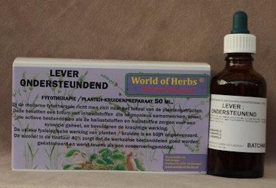 LEVER ONDERSTEUNEND FYTOTHERAPIE146  50 ml.