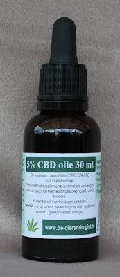CBD-olie 5%  30 ml.