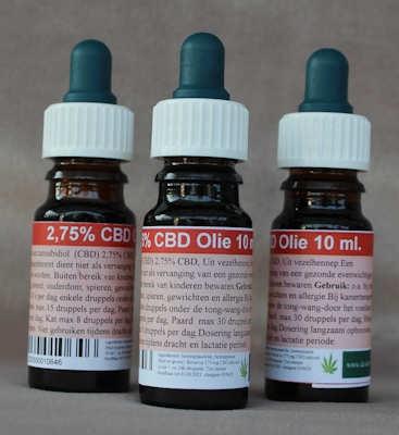 CBD-olie 2,75%  10 ml.