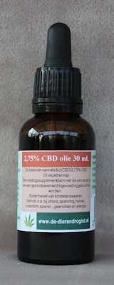 CBD-olie 2,75%  30 ml.