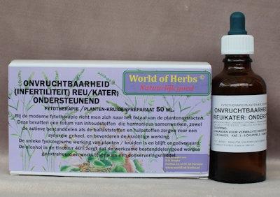 160 ONVRUCHTBAARHEID ( INFERTILITIET ) REU/KATER; ONDERSTEU  50 ml.
