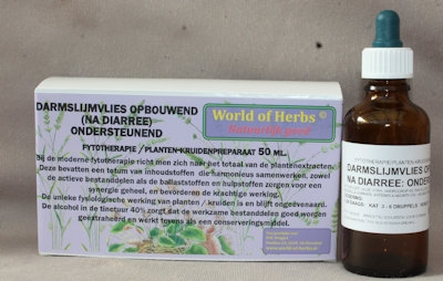 DARMSLIJMVLIES OPBOUWEND ( NA DIARREE); ONDERSTEUNEND  50 ml.