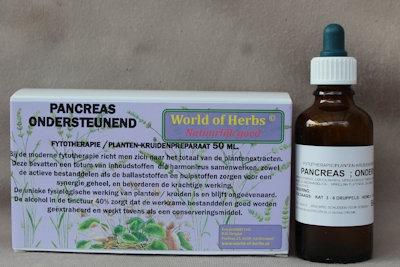 PANCREAS ; ONDERSTEUNEND FYTOTHERAPIE 185  50 ml.