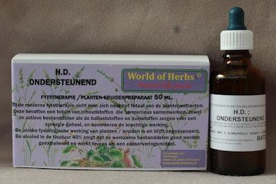 196 H.D. ; ONDERSTEUNEND  50 ml.