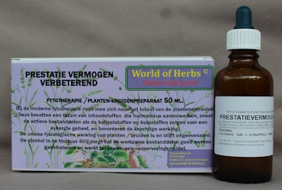 PRESTATIE VERMOGEN; VERBETEREND FYTOTHERAPIE 171  50 ml.
