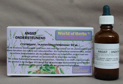 ANGST; ONDERSTEUNEND FYTOTHERAPIE 179  50 ml.