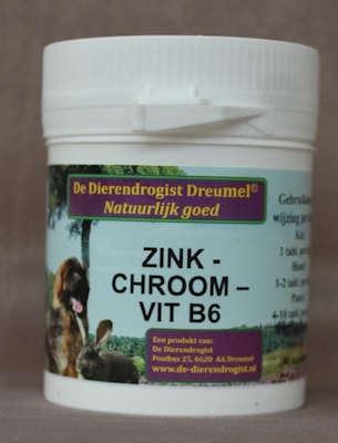 zink-chroom-vitamine B6  100 tabletten