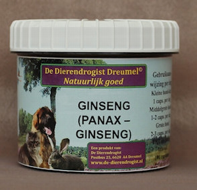 Gingseng capsules