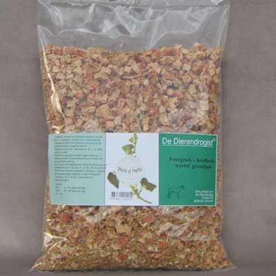 Fenegriek-knoflook-wortel granulaat  1 kg.