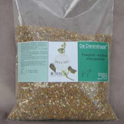 Fenegriek-knoflook-anijs granulaat  1 kg.