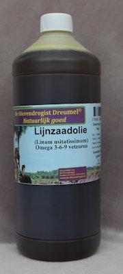 Lijnzaadolie (bevat omega 3-6-9 vetzuren) AKTIE