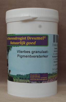 Vlierbesgranulaat pigment versterker
