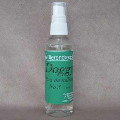 Doggy eau de toilette geur 3 (TROIS)  100 ml.