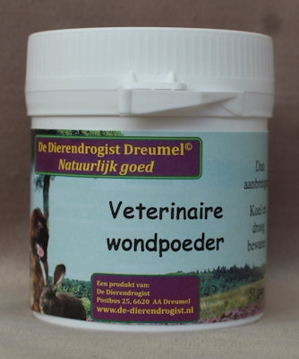Veterinaire wondpoeder SUPERACTIE  50 gram