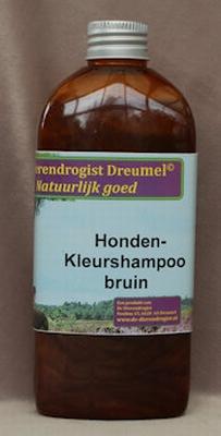 Honden kleurshampoo bruin
