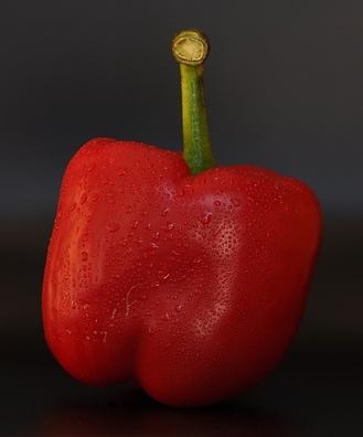 Paprika rood (capsicum annuum)  100 gram