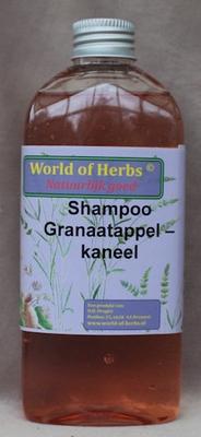 Shampoo granaatappel-kaneel shampoo  250 ml.