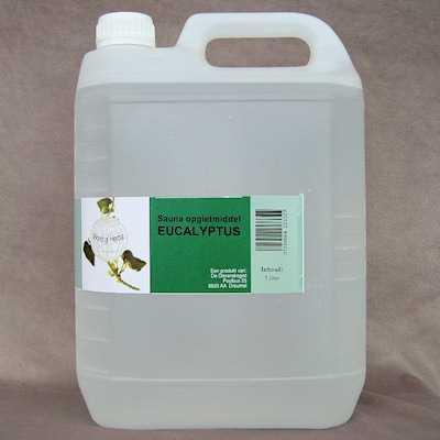 Sauna opgietmiddel eucalyptus  5 liter