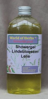 Showergel lindebloesem/lelie  250 ml.