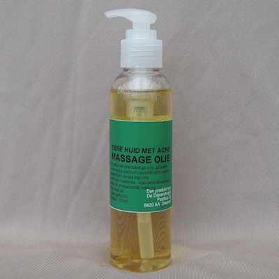 Massage olie tere huid