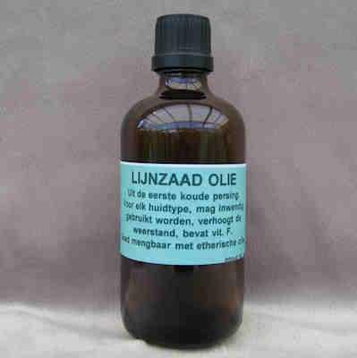 Basisolie Lijnzaadolie  100 ml.