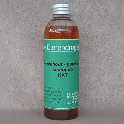 Kattenshampoo rozenhout-patchouli