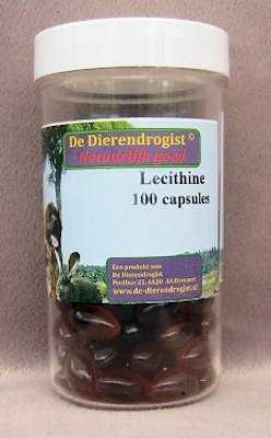 Lecithine  100 capsules
