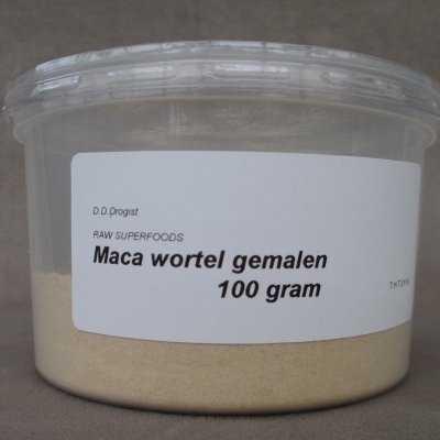 Maca wortel gemalen  100 gram