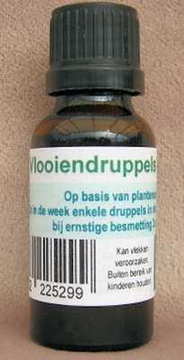 Vlooiendruppels SUPERACTIE  20 ml.
