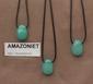 Amazoniet edelsteen ( Rusland) kleur groen-blauw-wit 1 Edelsteen