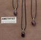 Amthyst edelsteen (Bolivia) kleur licht tot donker paars 1 Edelsteen