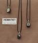 Hematiet edelsteen (Marokko) kleur grijs metalig 1 Edelsteen