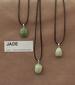 Jade edelsteen (Birma) kleur licht tot donker groen 1 Edelsteen