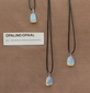Opaline/Opaal edelsteen (China) hemels blauw 1 Edelsteen